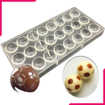 Acrylic Chocolate Mold Football Shaped - bakeware bake house kitchenware bakers supplies baking