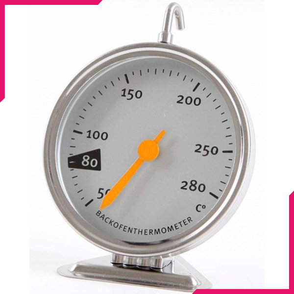 Stainless Steel Oven Thermometer - bakeware bake house kitchenware bakers supplies baking