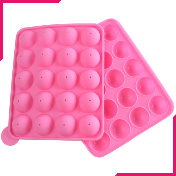 Silicone Candy Pop Moulds - bakeware bake house kitchenware bakers supplies baking