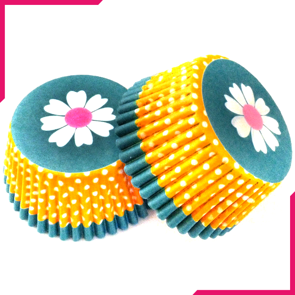 Cupcake Liner Daisy Flower - bakeware bake house kitchenware bakers supplies baking