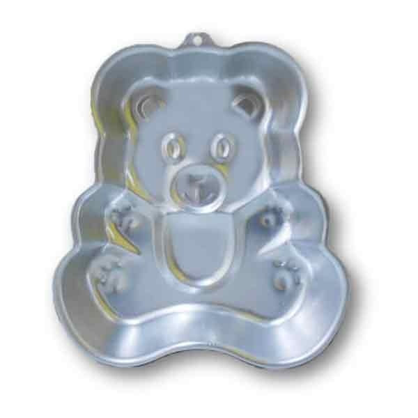 Teddy Bear Shape Cake Mold - bakeware bake house kitchenware bakers supplies baking
