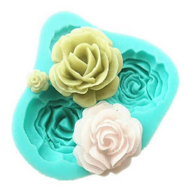 Silicone Rose Mold - bakeware bake house kitchenware bakers supplies baking