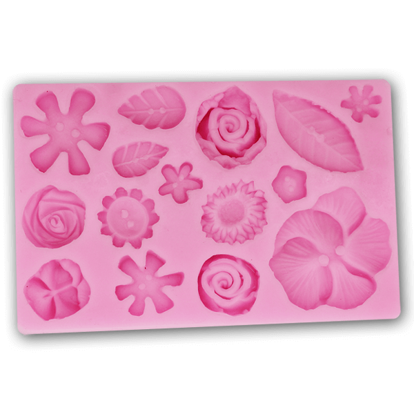 Silicone Mold Big Flower - bakeware bake house kitchenware bakers supplies baking