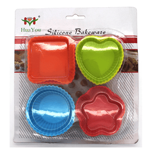 Cupcake Shape Silicone Mold - bakeware bake house kitchenware bakers supplies baking