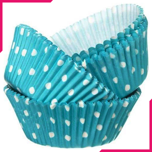 Cupcake Liners Sky Blue - bakeware bake house kitchenware bakers supplies baking