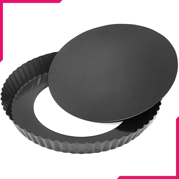 Pie Pans Removable Lid Large 26 cm - bakeware bake house kitchenware bakers supplies baking