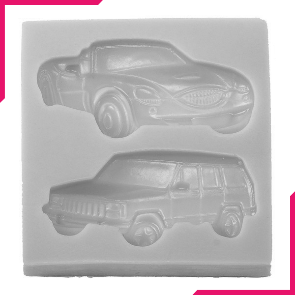 Car Jeep Shaped Silicone Mold - bakeware bake house kitchenware bakers supplies baking