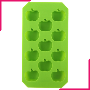 Silicone Ice Mold Apples 11 Cavity - bakeware bake house kitchenware bakers supplies baking