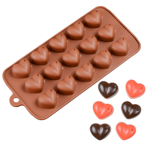 Chocolate Molds Heart Shape - bakeware bake house kitchenware bakers supplies baking