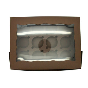 Cupcake Box - 12 Cupcake - bakeware bake house kitchenware bakers supplies baking