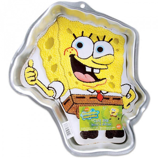 Silver Cartoon Cake Mould - Spongebob