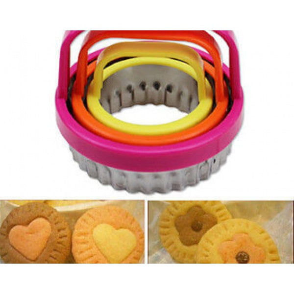 Scalloped Edge Cookie Cutter Set