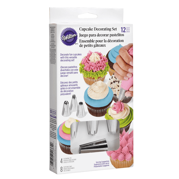 Wilton Cupcake Decorating Set - bakeware bake house kitchenware bakers supplies baking