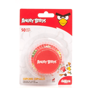 Dekora Baking Cups Angry Birds - bakeware bake house kitchenware bakers supplies baking