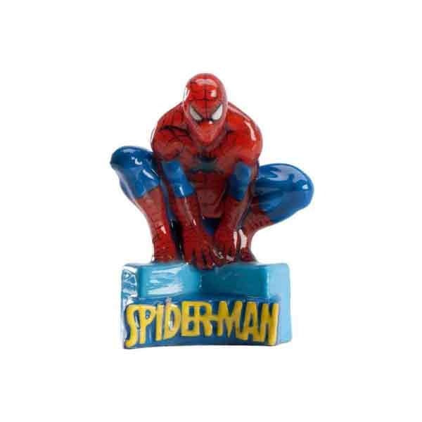 Spiderman Candle - bakeware bake house kitchenware bakers supplies baking