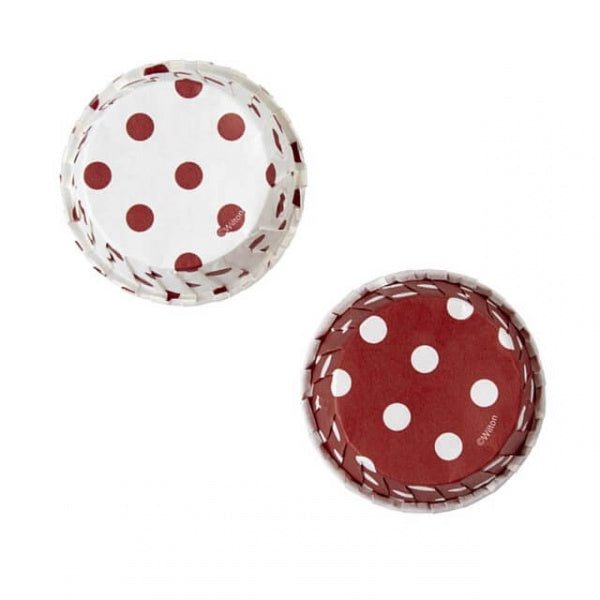 Wilton Red & White Polka Dot Bakeable Party Cup - 24pcs - bakeware bake house kitchenware bakers supplies baking