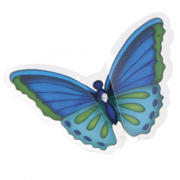Wilton Cool Butterfly Cake Picks - 12pcs - bakeware bake house kitchenware bakers supplies baking