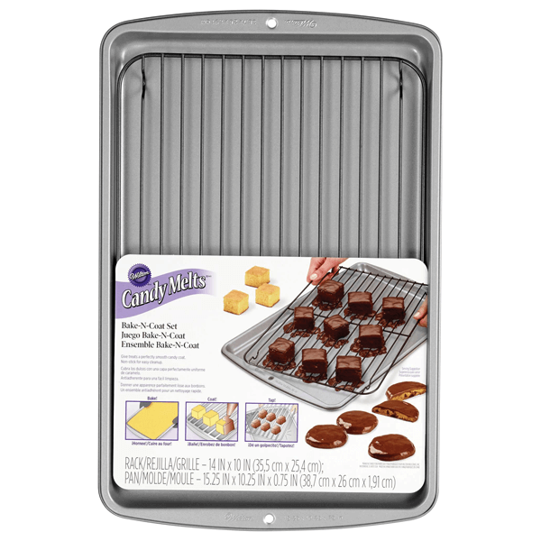 Wilton Bake N Coat Set - bakeware bake house kitchenware bakers supplies baking