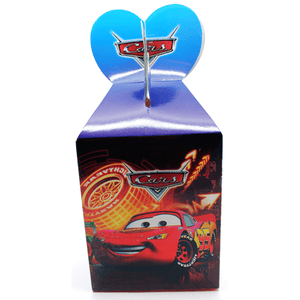 Cars Favor Box