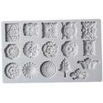 Silicone Fondant Mold Flowers - bakeware bake house kitchenware bakers supplies baking