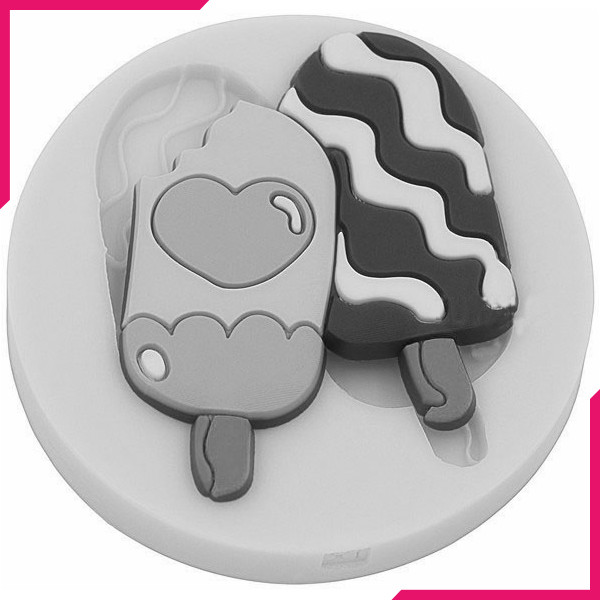 Ice Cream Silicone Mold - bakeware bake house kitchenware bakers supplies baking