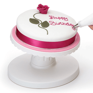 Decorating Turntable Tilt & rotate - bakeware bake house kitchenware bakers supplies baking