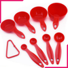 Measuring Cup & Spoon Set Red - bakeware bake house kitchenware bakers supplies baking