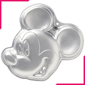 Silver Cartoon Cake Mould - Mickey - bakeware bake house kitchenware bakers supplies baking
