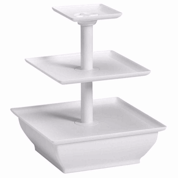3 - tier Snack Server - bakeware bake house kitchenware bakers supplies baking