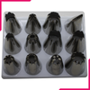 Extra Large Nozzle/tip Set - 12pcs - bakeware bake house kitchenware bakers supplies baking