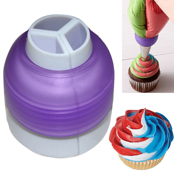 Tri Color Coupler - bakeware bake house kitchenware bakers supplies baking