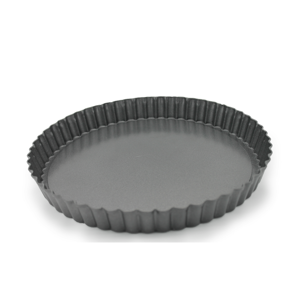 Pie Pans Removable Lid 22 cm - bakeware bake house kitchenware bakers supplies baking