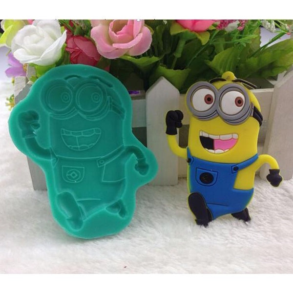 Bob Minion Silicone Mould - bakeware bake house kitchenware bakers supplies baking