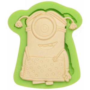 Stuart Girl Minions Silicone Mould - bakeware bake house kitchenware bakers supplies baking