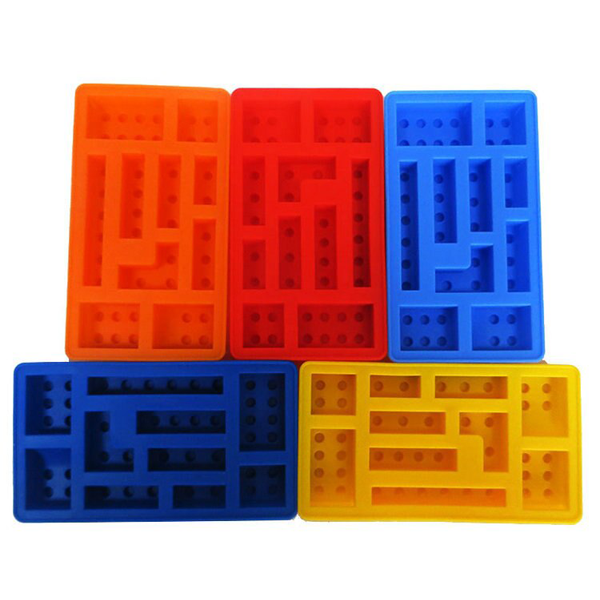 Lego Blocks Silicone Mould - bakeware bake house kitchenware bakers supplies baking