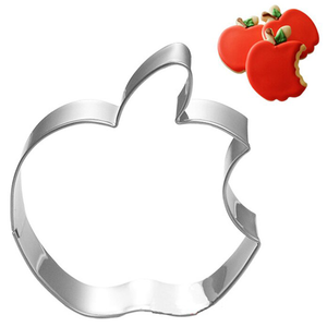 Apple Logo Cookie & Fondant Cutter - bakeware bake house kitchenware bakers supplies baking