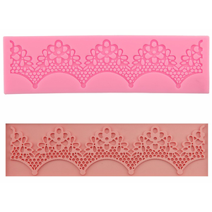 Silicone Flower Lace Fondant & Sugarcraft  9 - bakeware bake house kitchenware bakers supplies baking