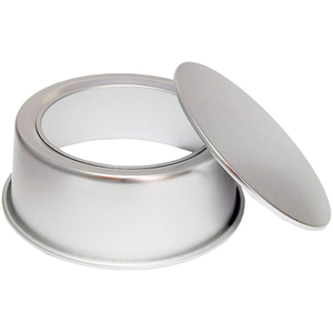 Cakepan Silver Removable Lid 8in x 3in