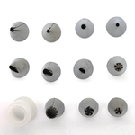 11 Nozzles/tips Set with Coupler - bakeware bake house kitchenware bakers supplies baking