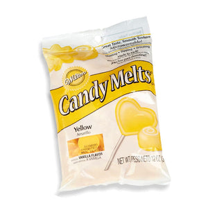Wilton Yellow Candy Melts 340gms - bakeware bake house kitchenware bakers supplies baking