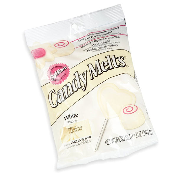 Wilton White Candy Melts 340gms - bakeware bake house kitchenware bakers supplies baking