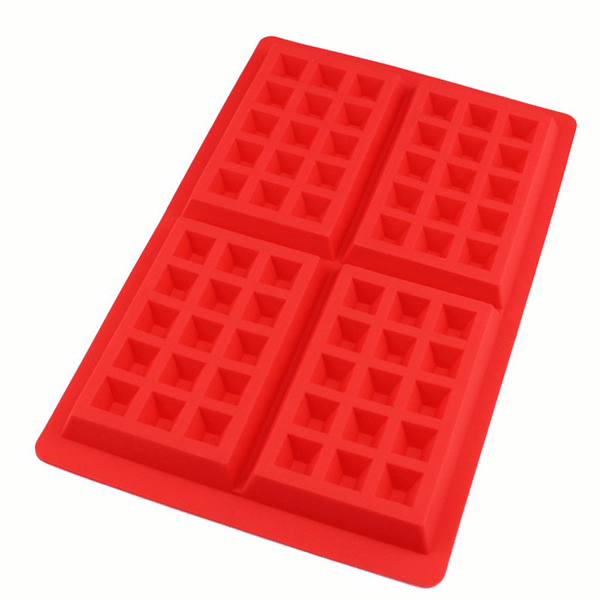 Fancy Waffle Silicone Mold - bakeware bake house kitchenware bakers supplies baking