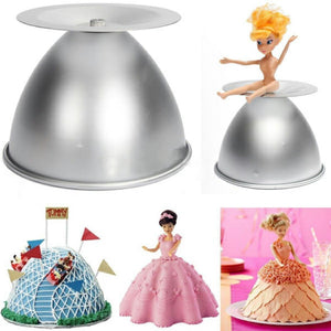 Doll Dress Cake Mould - bakeware bake house kitchenware bakers supplies baking