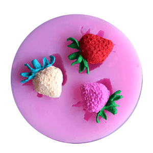 Pink Mold Strawberries