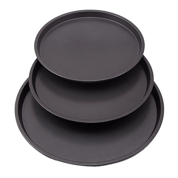 Pizza Pan 3 Pieces Set - bakeware bake house kitchenware bakers supplies baking