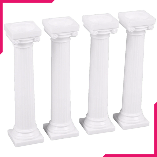 Cake Stacking Pillars - bakeware bake house kitchenware bakers supplies baking