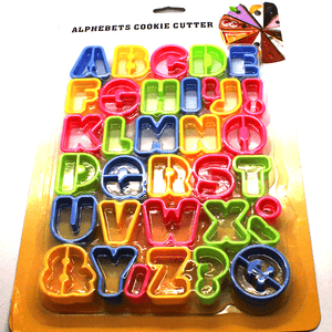 Cookie Cutter Set ABC