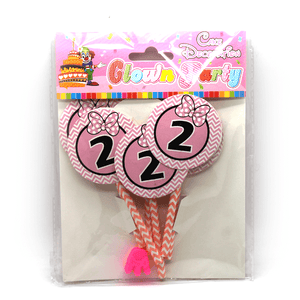 Cupcake Toppers Age 2 Design - bakeware bake house kitchenware bakers supplies baking