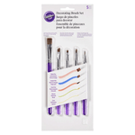 Wilton Decorating Brush Set 5 pcs - bakeware bake house kitchenware bakers supplies baking