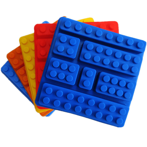 Silicone Decorating Mold Lego blocks - bakeware bake house kitchenware bakers supplies baking